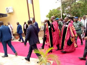 Lagos State Government Delegates at the Convocation
