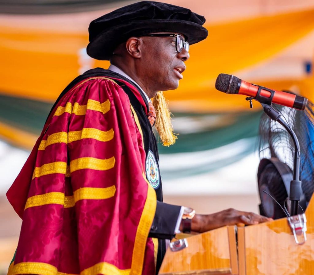 Governor Sanwoolu at Lapostech 27th Convocation 2020